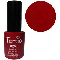 Гель-лак Tertio №128 красно-малиновый 10 мл