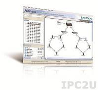MXview-250 Программное обеспечение для управления сетью, лицензия на 250 узлов (по IP-адресам) на CD-диске + печатное руководство пользователя