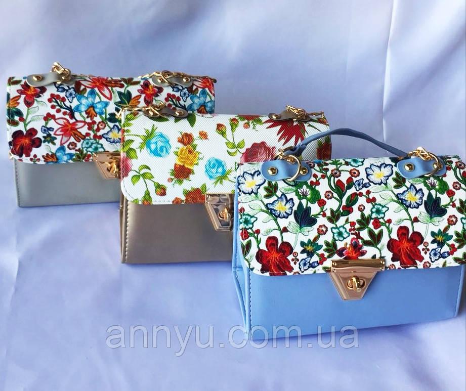 9e98d6c61994 Женские сумки с цветами оптом, цена 189,15 грн., купить в ...