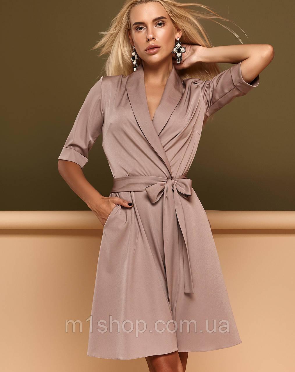Женское платье назапах с рукавом до локтя (Джоаннаjd)