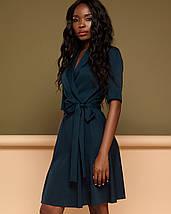Женское платье назапах с рукавом до локтя (Джоаннаjd), фото 2