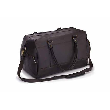 Спортивная дорожная сумка GOVAN на плечо темно коричневая Solier S18 , фото 2