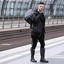 Спортивная дорожная сумка GOVAN на плечо темно коричневая Solier S18 , фото 3