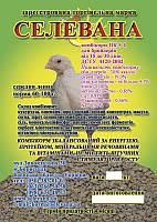 Комбикорм СЕЛЕВАНА для бройлеров от 15 до 30 дней 10кг