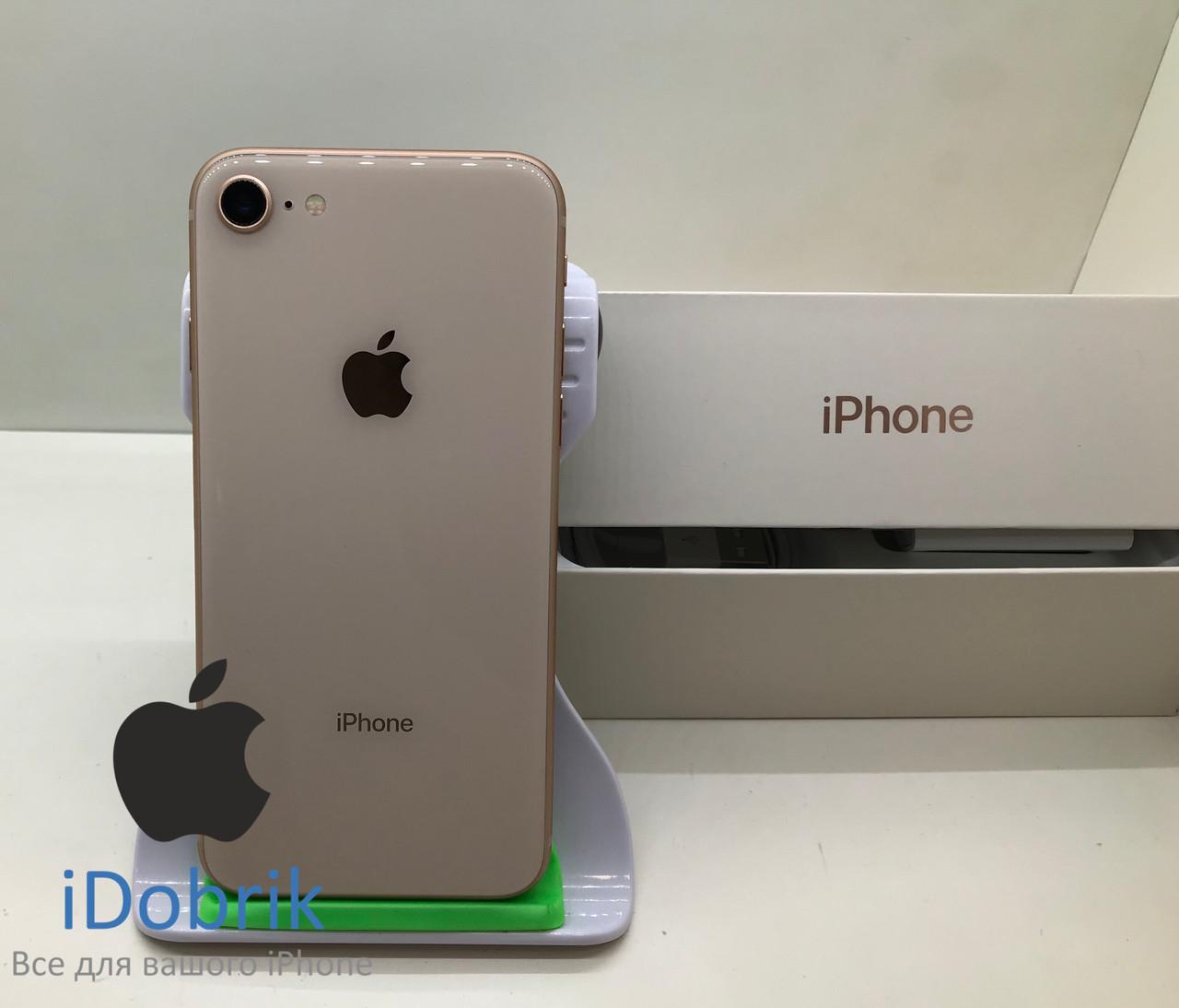Б/У iPhone 8 64gb Gold Neverlock 9/10