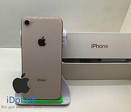 Телефон Apple iPhone 8  64gb  Gold  Neverlock  9/10