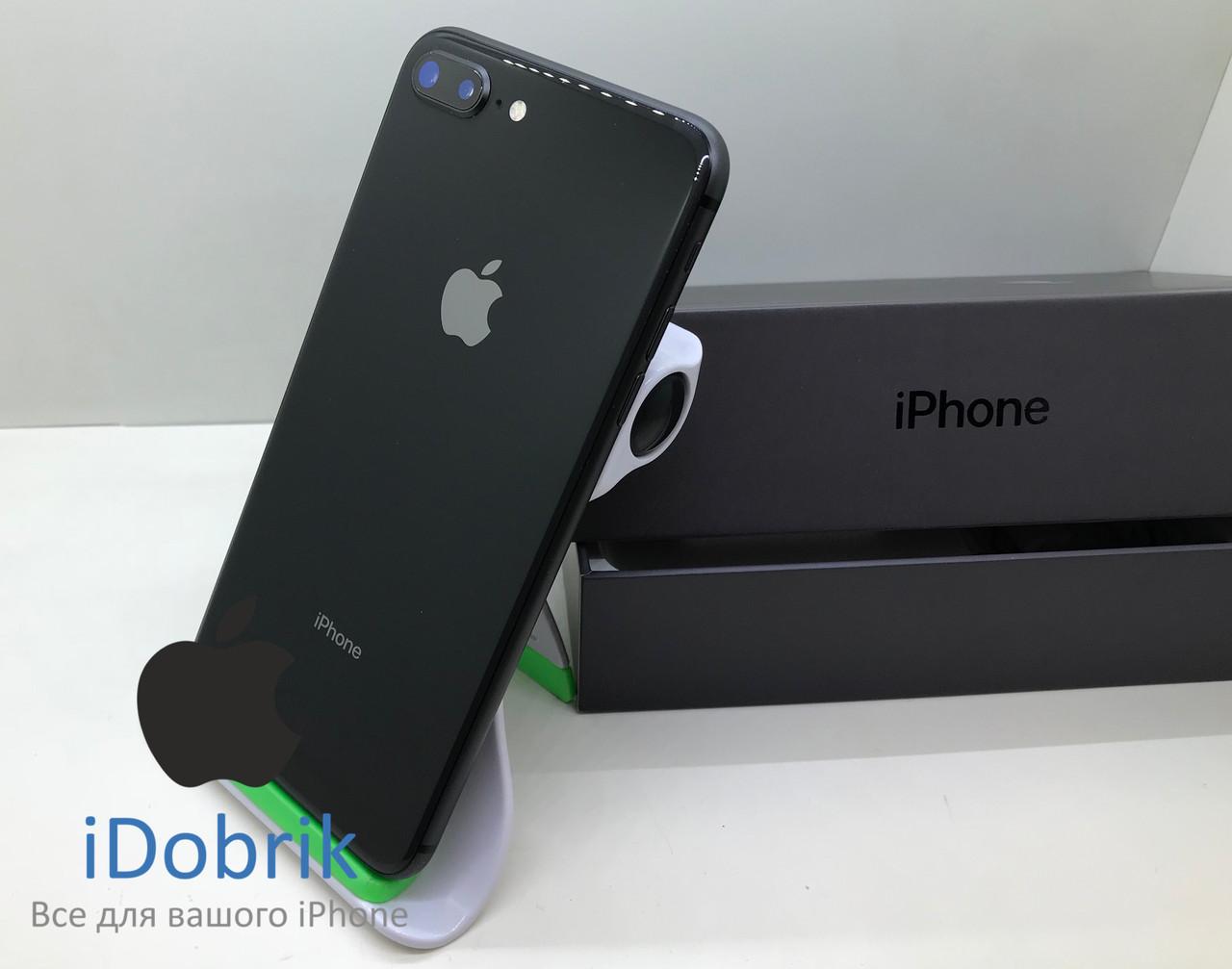 Телефон Apple iPhone 8 Plus 64gb  Space Gray  Neverlock  9/10