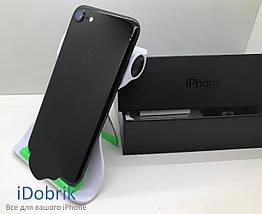 Б/У iPhone 7 128gb Jet Black Neverlock 10/10