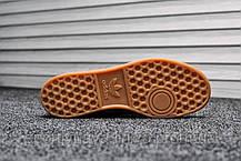 Кроссовки мужские серые Adidas Hamburg Gray Red (реплика), фото 3