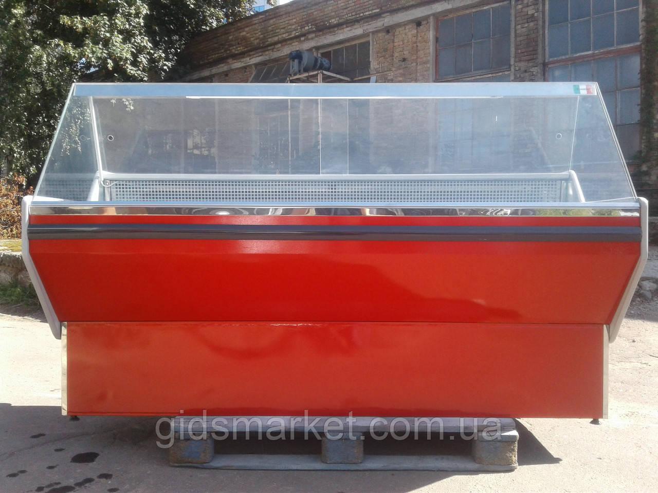 Холодильная гастрономическая витрина М-20 б/у, холодильный прилавок б у, витрина холодильная б у