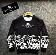 Мужская кофта свитшот ETRO Черная