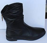 Полусапожки кожаные на низком ходу от производителя модель МВ555, фото 1