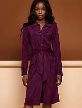 Женское замшевое платье-кардиган (Лея jd), фото 2