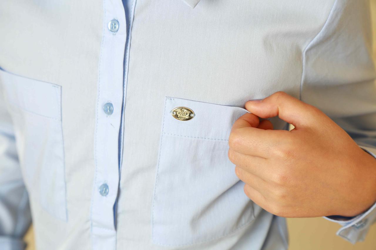 Блуза для школы модная