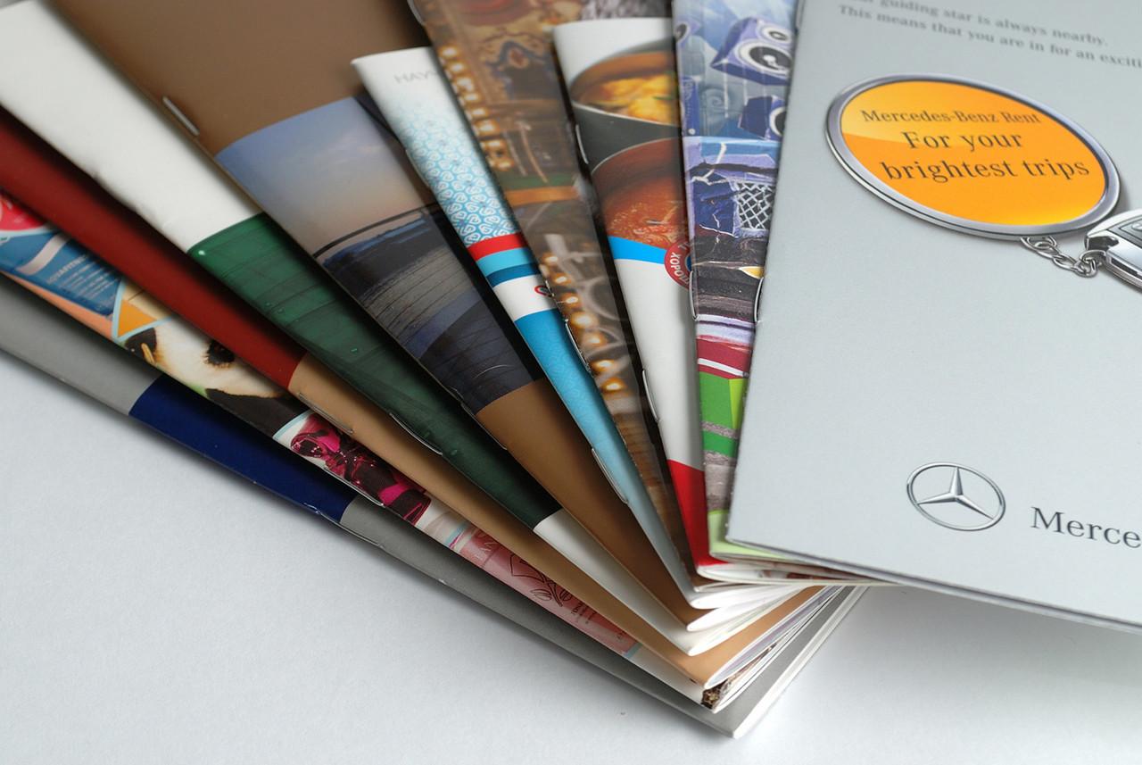 Печать брошюр и каталогов