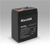 Герметичный свинцово-кислотный аккумулятор MastAK MT660 6V  6Ah