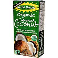 Кремовый кокос Edward & Sons Let's Do Organic Creamed Coconut 200 грамм