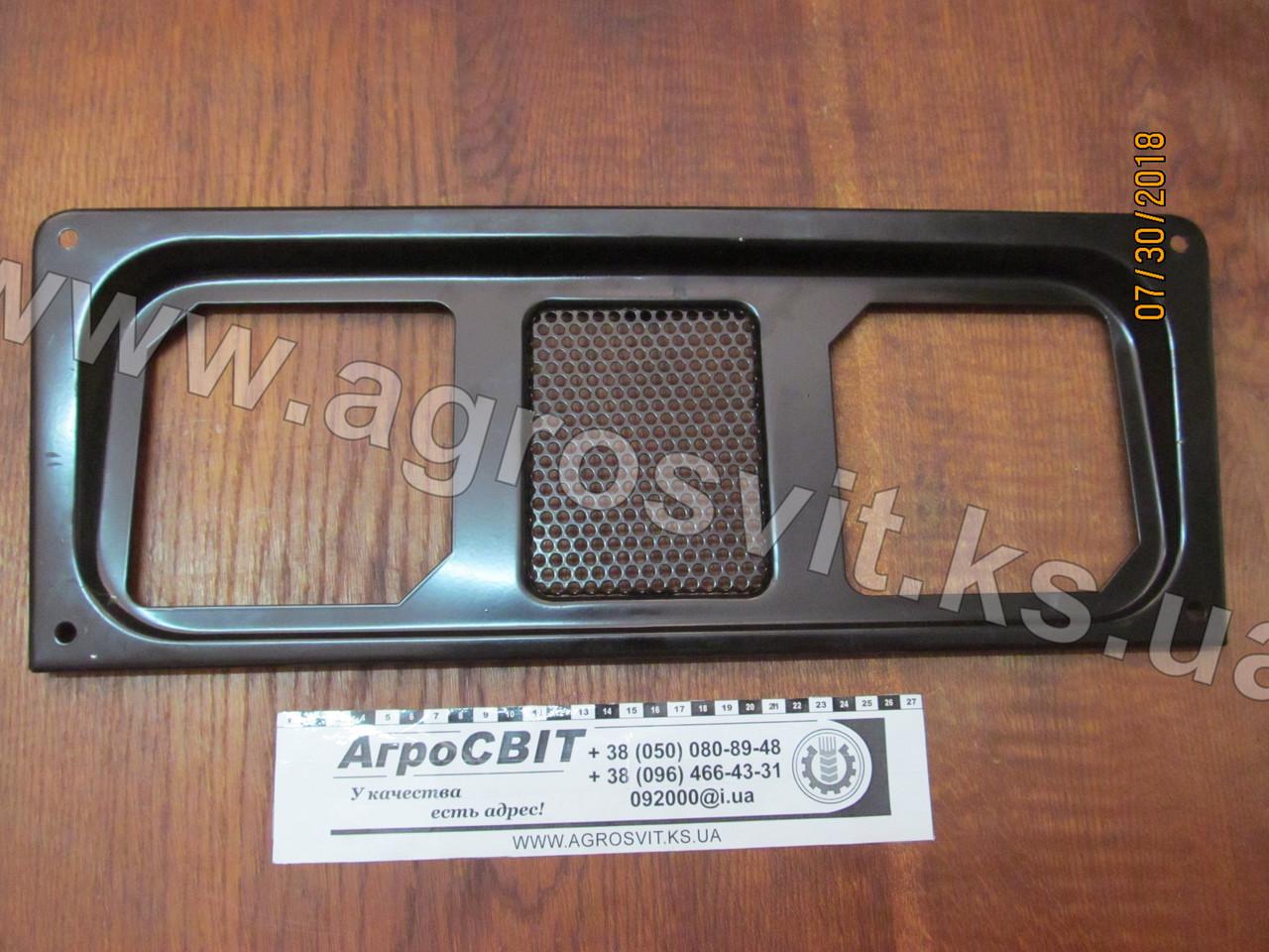 Решетка капота МТЗ-900-1221 (нижняя) под квадратные фары; 90-8401020