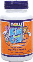 Детский Кальций, Now Foods, Kid Cal Chewable, 100 tab