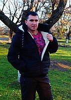 Спортивный мужской костюм стеганный в расцветках 25414, фото 1