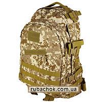 """Тактический рюкзак крепкий """"Cool walker"""" светлый пиксель 50 литров., фото 1"""