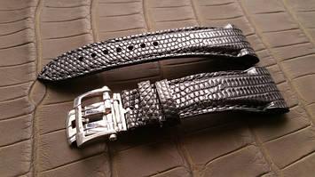 Ремінці для годинників з шкіри крокодила