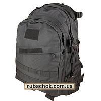 """Тактический рюкзак крепкий """"Cool walker""""черный 50 литров."""