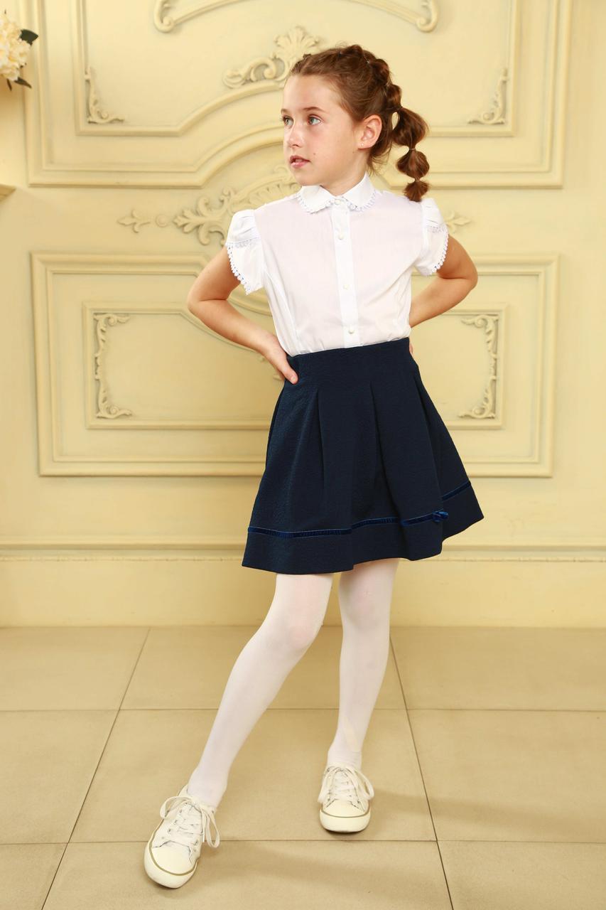 Красивая школьная юбка для девочек