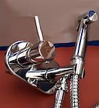 Смеситель встроенный с гигиеническим душем 4-034, фото 3