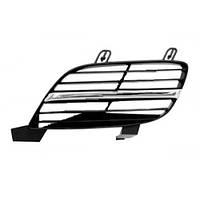 Решетка радиатора лев хром+черн Nissan Almera 00-03  62310-8M425