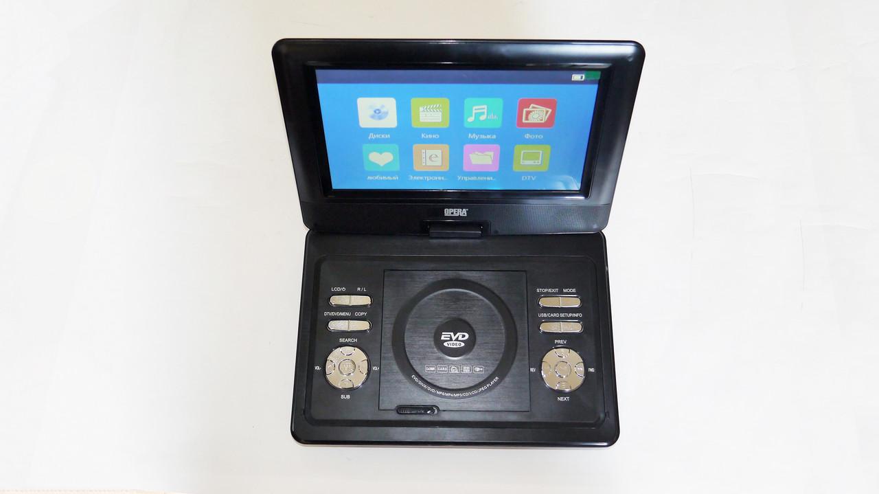 Портативный DVD проигрыватель Opera 1129H 10 дюймов цифровое ТВ