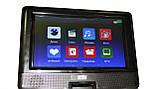 Портативный DVD проигрыватель Opera 1129H 10 дюймов цифровое ТВ, фото 7