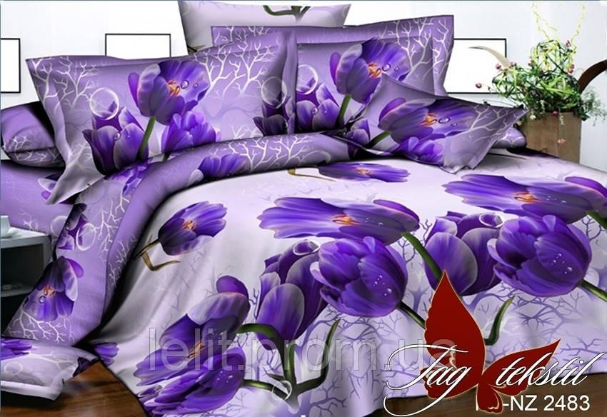 Полуторный комплект постельного белья PS-NZ 2483