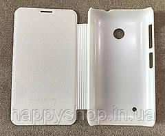 Чехол-книжка Nillkin для Nokia Lumia 530 (White), фото 3