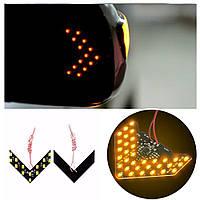 Повторитель поворота LED указатели поворота зеркала заднего вида (Желтый) 2 шт.