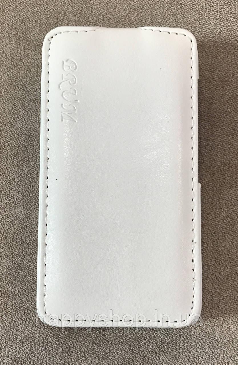 Чехол-книжка BRUM для Nokia Lumia 530 (Белый)