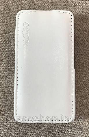 Чехол-книжка BRUM для Nokia Lumia 530 (Белый), фото 2