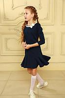 Модное школьное платье для девочки, фото 1