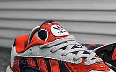 Кроссовки мужские красные Adidas Yung Red (реплика), фото 3