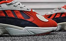 Кроссовки мужские красные Adidas Yung Red (реплика), фото 2