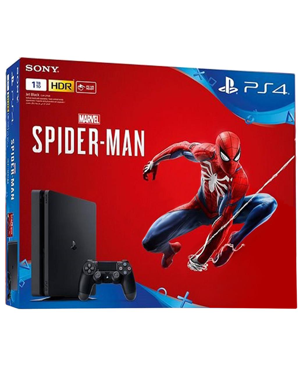 Набор Playstation 4 Slim 1Tb + Marvel's Spider-Man