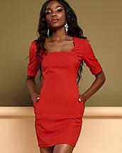Женское платье по фигуре с квадратным вырезом (Мия jd), фото 2
