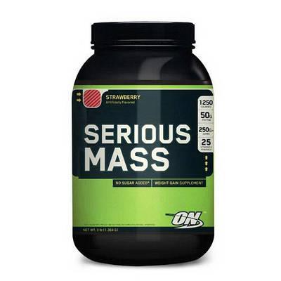 Гейнер Optimum Nutrition Serious Mass (2.7 kg)