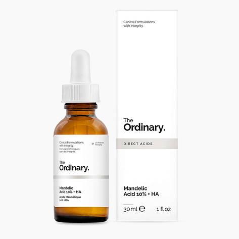 Сыворотка с миндальной кислотой The Ordinary Mandelic Acid 10% + HA, фото 2