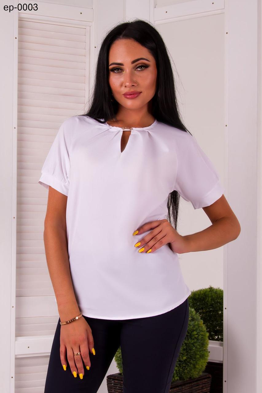 d23c07e75b6 Женская Стильная Белая Блузка — в Категории