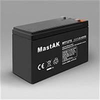 Герметичный свинцово-кислотный аккумулятор MastAK MT1270  12V  7Ah