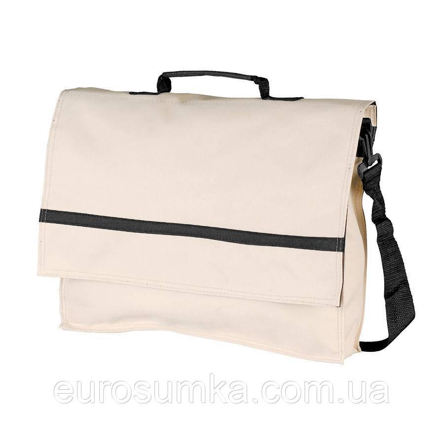 Тканевая сумка из Оксфорда через плечо от 50 шт. с логотипом