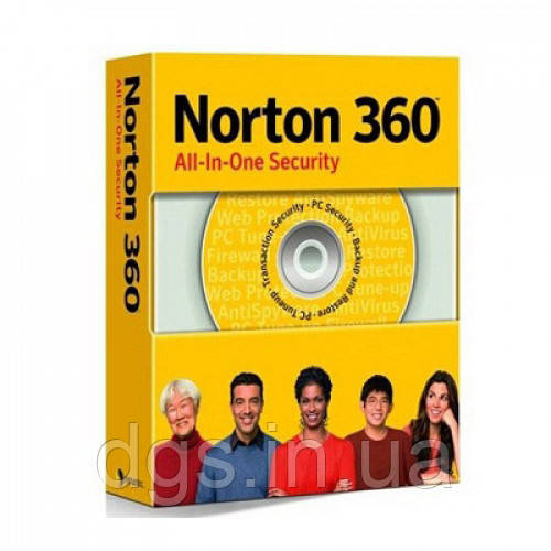 Norton 360 Global Key для 3 устройств на 1 год