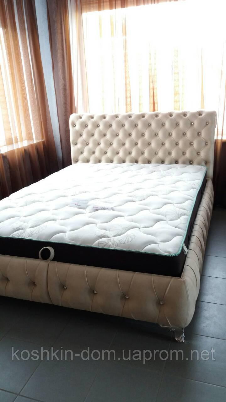 Двуспальная кровать Клеопатра с подъемным механизмом 180*200