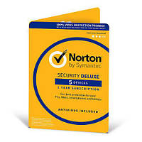 Norton Security Deluxe 1 year 5 Devices Global Key